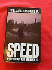 SPEED   WILLIAM S. BURROUGHS JR.  1ST ED 1984  HB/DJ   WILLIAM S. BURROUGHS JR.