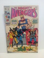 The Avengers #68 (Sep 1969, Marvel), Thor, FN/VF, Fine/Very Fine condition *