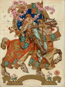 Joseph Christian Leyendecker Untitled Poster Reproduction Giclee Canvas Print
