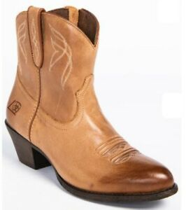 "Ariat Ladies Darlin' 7"" Zip Up Western Boots #10017323 Burnt Sugar ~ Many Sizes"