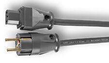 Supra Cables LoRad 2,5 silver SPC CS-EU 3m Netzkabel 3x2,5qmm SW-EU SWF-10s