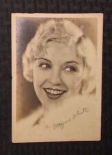 1930's MARJORIE WHITE Autographed Picture VG+ 5x7 Comedienne - Three Stooges