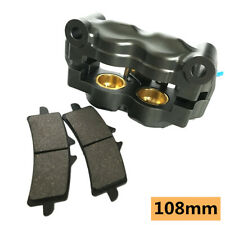 4 Position Black CNC Aluminum;Hard Anodizing 108mm Right Radial Brake Caliper