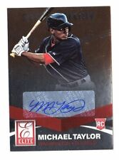 Michael Taylor MLB 2015 Elite XXI SECOLO firme (Washington Nationals)