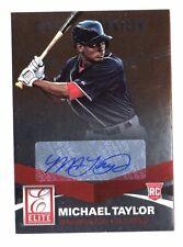 MICHAEL TAYLOR MLB 2015 ELITE 21ST CENTURY SIGNATURES (WASHINGTON NATIONALS)