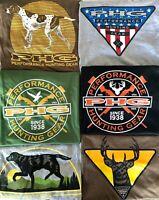 Columbia PHG Hunting Gear Men's  L XL T Shirt Buck Duck Dog Deer USA Flag New