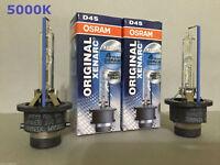 2PCS NEW OSRAM XENARC D4S 66440 5000K OEM HID XENON LIGHT BULBS SET