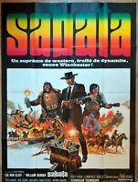 Plakat Kino Original Western Sabata Lee Van Cleef - 120 X 160 CM