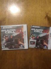 Tom Clancy's Splinter Cell 3D (Nintendo 3DS, 2011) Complete
