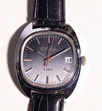 MENS VINTAGE WATCH watches wind up wristwatch - SEKONDA 17 JEWELS working 35mm