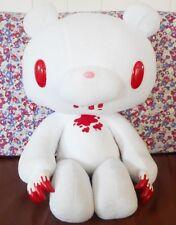 New GLOOMY BEAR Plush Bloody White Big XL 18.5inch 47cm Doll TAITO Japan RARE