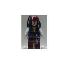 NEW LEGO Captain Jack Sparrow  FROM SET 4182 PIRATES OF THE CARIBBEAN (poc010)