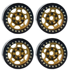 "4PCS 1.9"" Beadlock Wheel Rims for 1/10 RC Crawler Traxxas TRX-4 Axial SCX10 CC01"