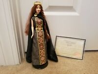 Princess of Ireland Barbie Doll 2001 Dolls of the World Princess Collection