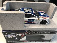 2017 Dale Earnhardt Jr Nationwide Patriotic NASCAR Signed 1/24 Diecast Car