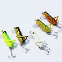 1 X Luminous Fishing Lure Artificial Locust Grasshopper Lures Hard Bait MO