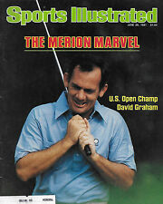 SPORTS ILLUSTRATED - DAVID GRAHAM FROM JUNE 29, 1981