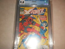 X-FORCE 11 CGC 9.8 1ST APPEARANCE OF THE REAL DOMINO NEENA THURMAN