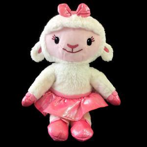 "Ty Disney Junior Doc McStuffins Lambie Lamb Ballerina Plush 13"" Stuffed Animal"