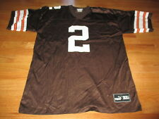 Vintage Puma TIM COUCH No. 2 CLEVELAND BROWNS (Size XL) Jersey