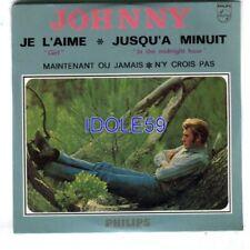 CD de musique numérotés CD single Johnny Hallyday