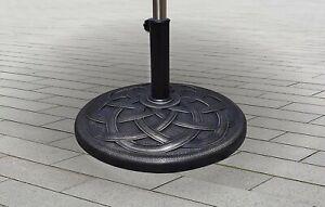 BACKYARD EXPRESSIONS PATIO · HOME · GARDEN 911554 Umbrella Base Bronze