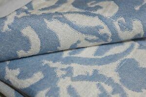 NEW Pottery Barn BLUE JACQUARD MEDALLION 3 PC SET Duvet Cover + Shams CAL KING