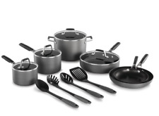 Select by Calphalon Hard-Anodized Nonstick Pots and Pans, 14-Piece Cookware Set