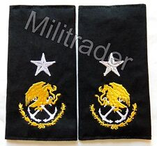 Mexico Mexican Navy Rear Admiral Epaulets
