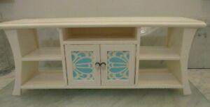 "American Girl White Wood Dresser Furniture for 18"" American Girl Doll EUC"