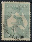Australia 1915-1927 SG#40, 1s Blue-Green Die II Used #A93385
