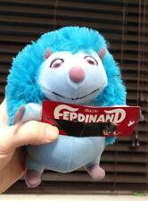 """7"""" FERDINAND Movie Cuatro Hedgehog Plush Stuffed Toy Factory Tags Blue Sky Dollb"""