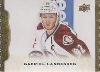 2014-15 Upper Deck Masterpieces Hockey #44 Gabriel Landeskog Colorado Avalanche