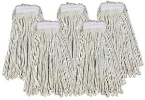 Kentucky Mop Head 16oz Replacement Commercial Cotton Heavy Duty Large 5 Pack