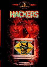 NEW DVD w/o SHRINKWRAP / HACKERS - Jonny Lee Miller, Angelina Jolie,