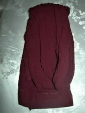 WORN ONCE : SISI / CALZEDONIA PATTERNED TIGHTS PURPLE / AUBERGINE : LARGE / XL