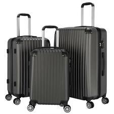 New 3Pcs Travel Luggage Set Boarding Trolley Suitcase Truely TSA Lock 20/24/28