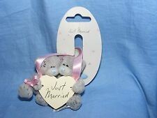 Me To You Bear Plush Wedding Day Bride And Groom Car Window Sucker G01W2268 Gift