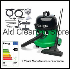 George Carpet Cleaner Vacuum GVE370 - Numatic 4 in 1 Vacuum - Dry & Wet Use