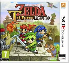 The Legend of Zelda: Tri Force Heroes 3DS - totalmente in italiano
