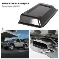 ABS Plastic Cowl Heater Air Vent Hood Scoop for Jeep Wrangler TJ JK 98-18
