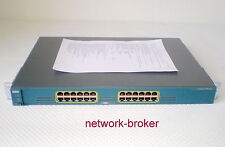 Cisco WS-C2970G-24T-E 24 x Ethernet 10/100/1000 ports mit Funktionsprotokoll