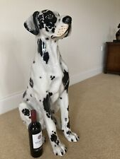 """More details for great dane italian porcelain.approx 33"""" high."""