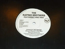 TAKE THAT - Could It Be Magic - Rare deleted 1992 UK -track DJ PROMO