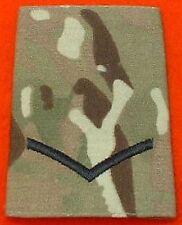 L/CPL Multicam Rank Slide LCPL Combat Multi Terrian Pattern Rank Slide MTP Badge