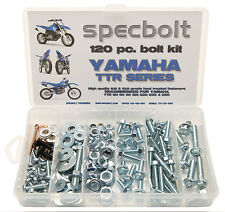 SPECBOLT 120 piece Bolt Kit Yamaha TTR 50 90 110 125 225 250 plastic engine fork