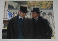 JUDE LAW SIGNED 8X10 PHOTO AUTOGRAPH SHERLOCK HOLMES COA A