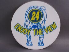 "JEFF GORDON #24 ENJOY THE VIEW ROUND STICKER 3"" NEW"