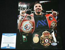 Andre Ward Andre Ward signed & inscribed 8 x 10, WBA, WBO, IBF, Beckett BAS2