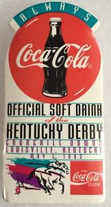 Kentucky Derby Pin 1993 Coca-Cola Official Soft Drink of KY Derby